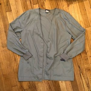 Light Grey Scrub Jacket